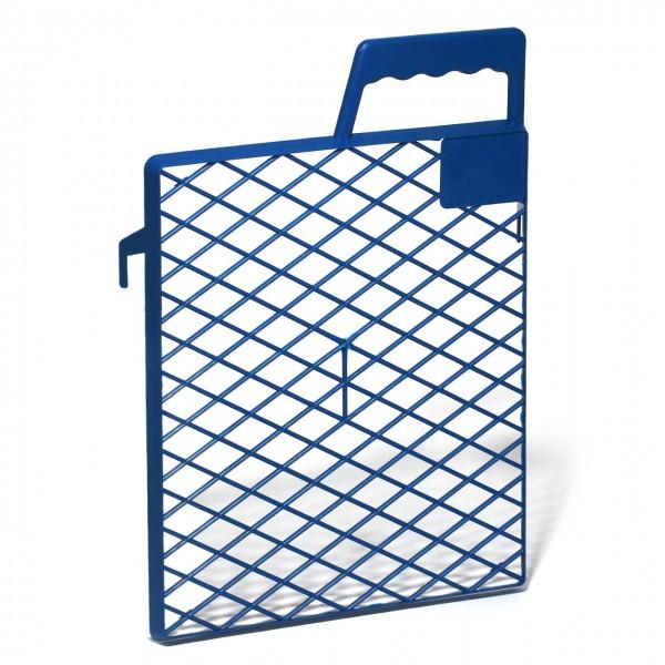 Abstreifgitter Kunststoff, blau
