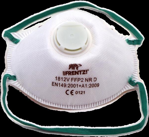 Staubmaske filtrierend FF P2 mit Ventil