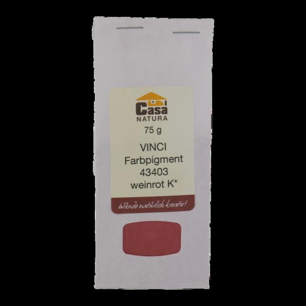 VINCI Pigment weinrot